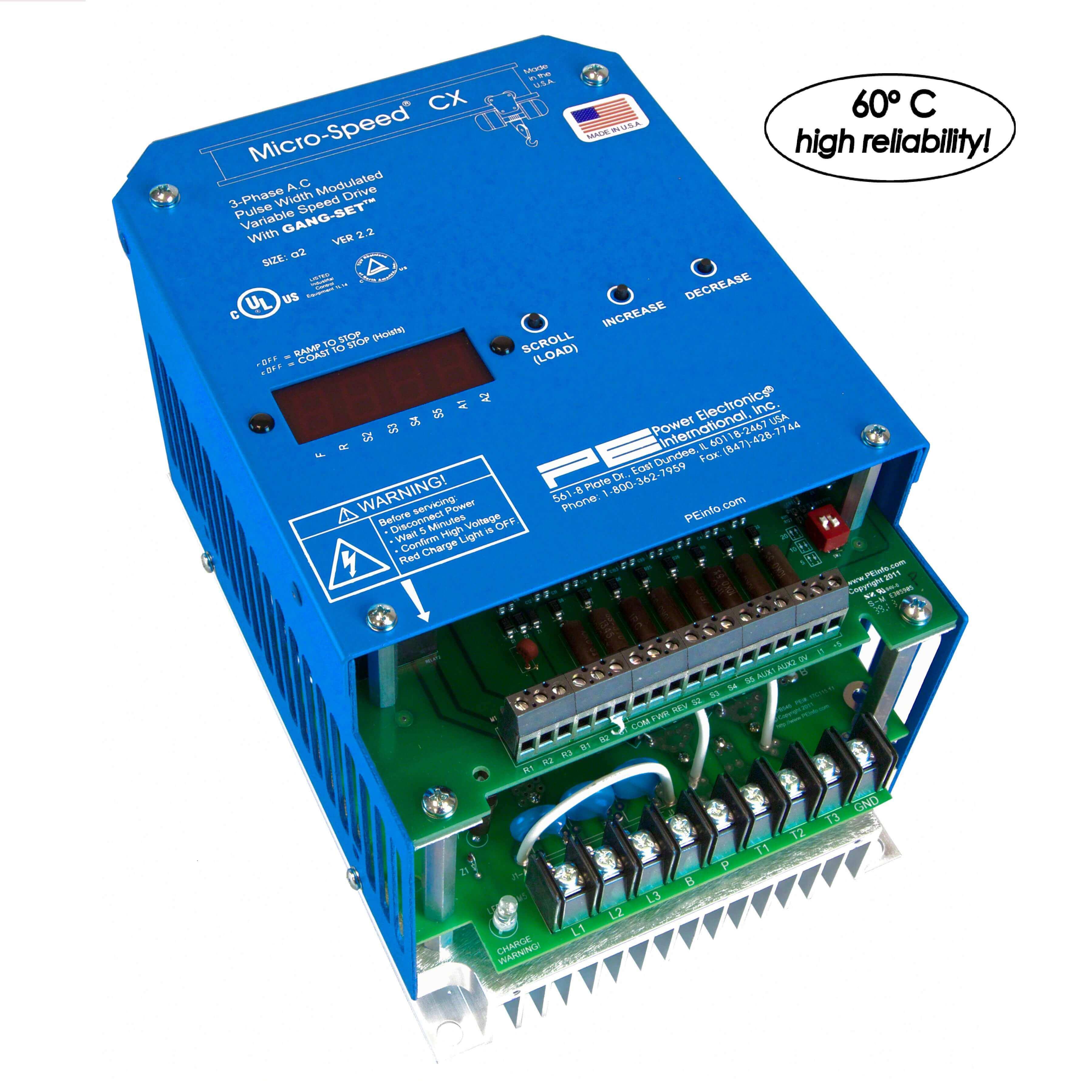 Power Electronics Micro Speed CXR (1-40HP)