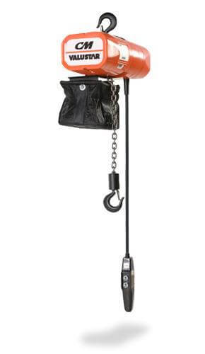 CM Valustar Electric Chain Hoist